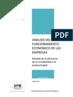 Analisis del funcionamiento económico de las empresas 1a