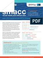 SMACC 2013 Call for Abstracts