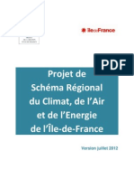 PROJET SRCAE - Ile-De-France Version Juillet 2012