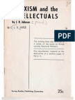 CLR James Marxism and the Intellectuals