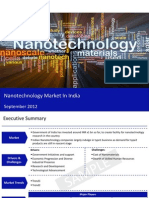 Market Research Report :Nanotechnology market in India 2012