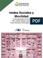 Redes Sociales y Movilidad