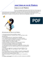 100 Razones Para Usar Linux en Vez de Windows