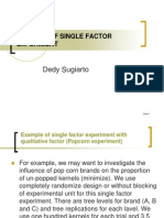 Case Study Single Factor Exp