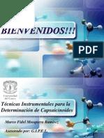 07. Técnicas Instrumentales para la Determinación de Capsaicinoides