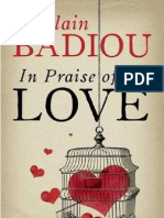 Badiou, In Praise of Love