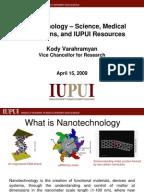 Essay on an area of Nanotechnology?