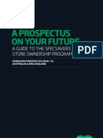 Franchise Prospectus of Spec Savers