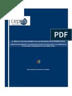 Impacto Socioeconomico de Las Entidades de Economia Social