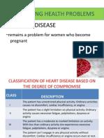 Preexisting Health Problems