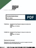 Agribar Opporators Manual
