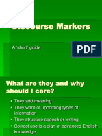 Discourse Markers (1)
