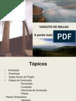 Apresentação - Viaduto de Millau