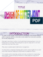 43772415 Design of Cotter Joint