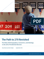 The Path to 270 Revisited