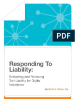 Responding to Liability