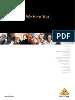 2012 Behringer Catalog en v1