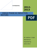 Single Phase Motors ( Electrical Engineering )