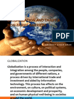 Finaleglobalization and Tariff & Non-tariff Barriers