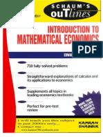 Schaum Introduction to Mathematical Economics -- Kamran Shabbir