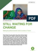 Still Waiting For Change