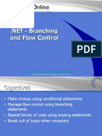 .NET - Branching and Flow Control