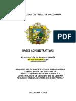 Bases Biodigestores Calera