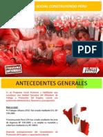 Programa Social Construyendo Peru[1]
