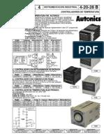 Controladores de Temperatura Autonics
