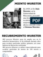 RECUBRIMIENTO WURSTER
