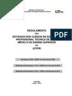 Regulamento de estágio utfpr