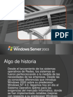 Presentación windows server 2003