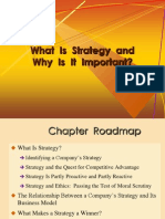 Ch 1 What is Strategy and Why It is Important