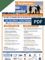 II Jornadas Marplatenses por la Vida y la Familia 2012