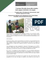 Universidad Cayetano Heredia desarrolla estudios para obtener papas resistentes a la sequía