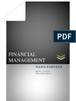Financial Management Naaz