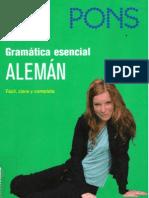 Gramatica Esencial Aleman PONS