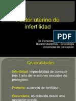 Factor Uterino de Infertilidad