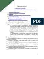 Fundamentos Legales de Las Personas Naturales y Juridicas