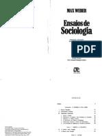 Max Weber - Ensaios de Sociologia