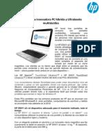 HP presenta innovadora PC híbrida y Ultrabooks multitáctiles 69bed4723c98