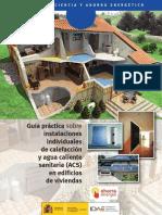 Instalaciones individuales de calefacción y de (ACS) en viviendas