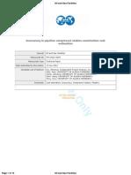 Inaccuracy in Piepline Compressor Station Construction Cost Estimaiton