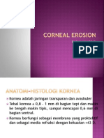 Corneal Erosion