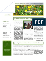 EDA Newsletter V1 I1 April 2008