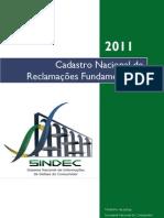 Reclamação nos Procons em 2011
