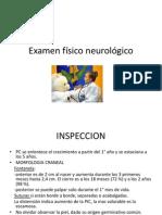 Examen físico neurológico