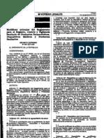 DS 001-2012-SA Modificación reglamento de Registro, control y vigilancia sanitaria