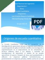 Diapositiva de Escuela Cuantitativa