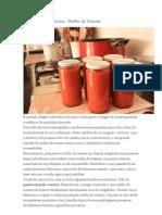Pasteurização Caseira